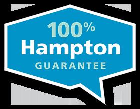 100% Hampton Garantie