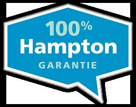 100% Hampton-garantie