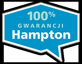 100% GWARANCJI Hampton