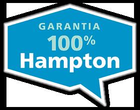Garantia 100% Hampton
