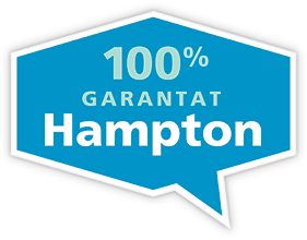 100% garantat Hampton!