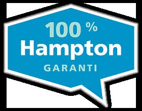 100 % Hampton-garanti