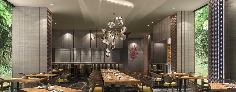 Hôtel Conrad Bengaluru, Inde - Restaurant asiatique