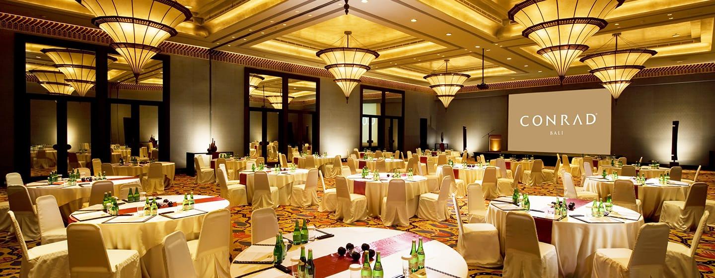 โรงแรม Conrad Bali ประเทศไทย - การจัดงานเลี้ยงภายในห้องบอลรูม