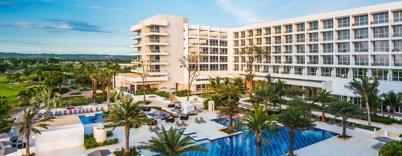 Hotel Conrad Cartagena, Colombia - Vista a la piscina