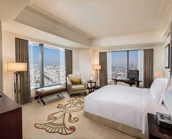 Conrad Dubai hotel, VAE - Executive met 1 kingsize bed