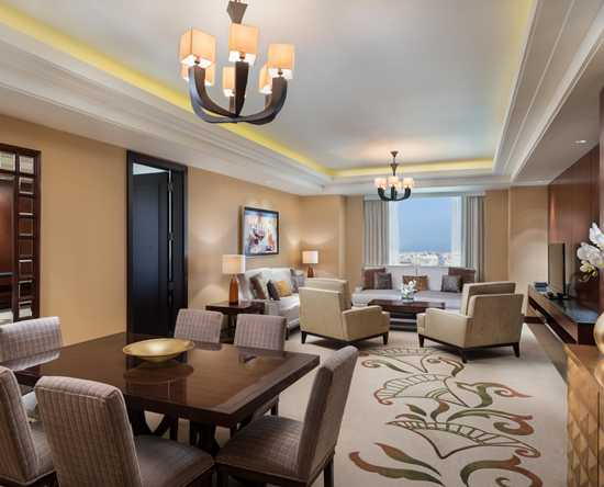 Conrad Dubai hotel, VAE - Executive suite