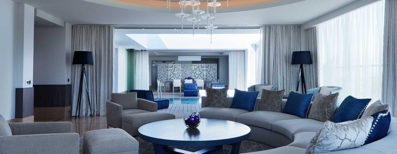 Hotel Conrad Algarve, Portugal - Suíte King com jardim na cobertura