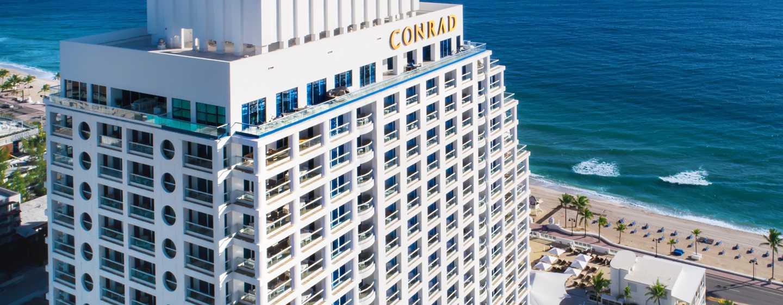 Conrad Fort Lauderdale Beach, EE.UU. - Fachada del hotel
