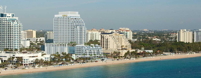 Conrad Fort Lauderdale Beach, EUA – praia
