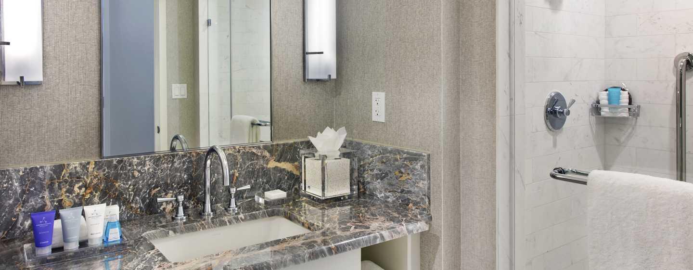 Conrad Fort Lauderdale Beach, EUA – banheiro da suíte