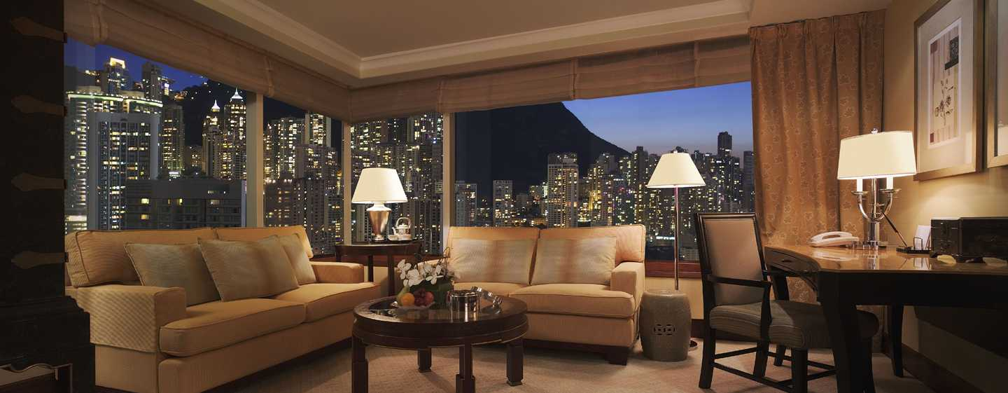 Conrad Hong Kong, China – Executive Suite mit Bergblick