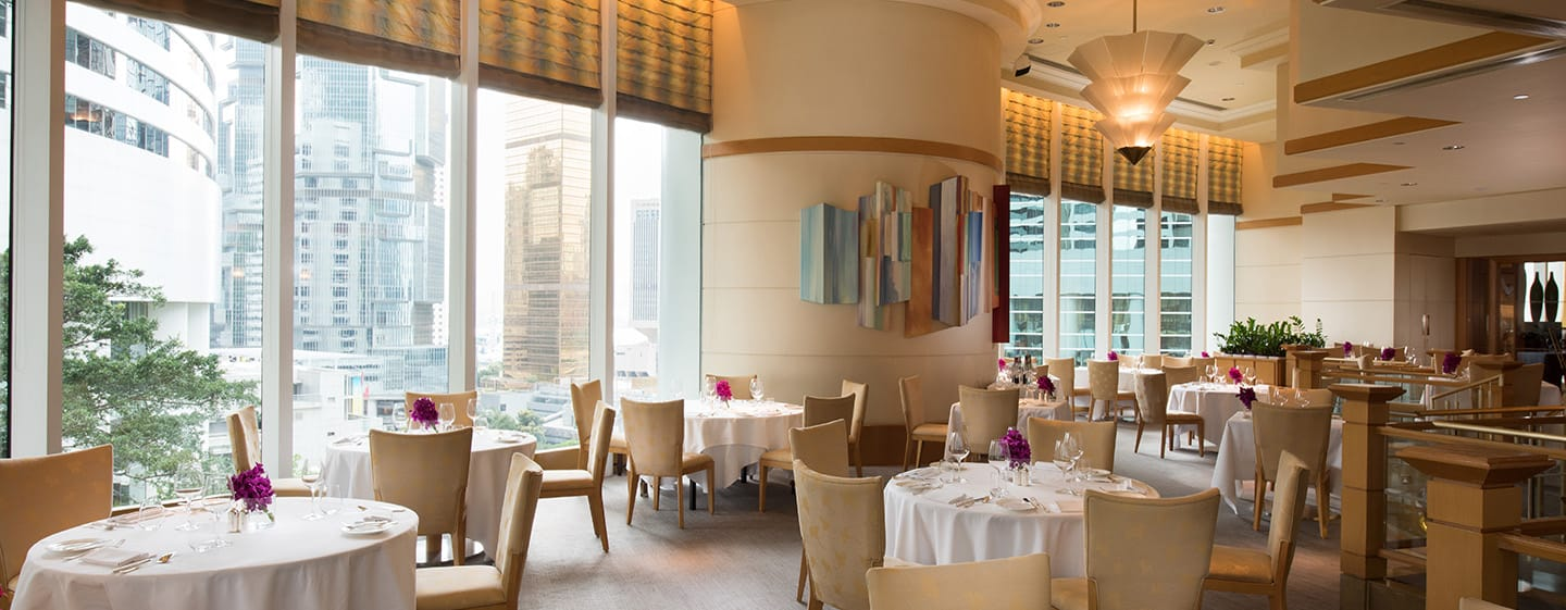 """Conrad Hong Kong, China – Restaurant """"Brasserie on the Eighth"""""""