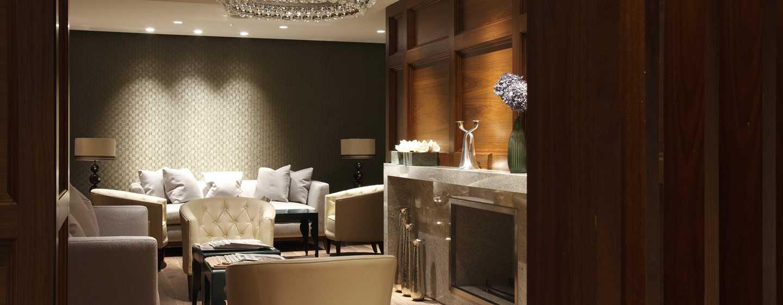 Hotel de lujo en londres hotel de lujo conrad en st james for Sala de estar de un hotel