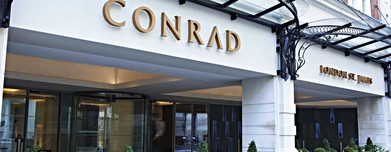 Hotel Conrad London St James, Reino Unido - Fachada del hotel