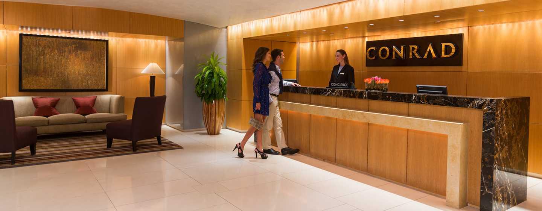 Hotel Conrad Miami, Flórida, EUA – Recepção