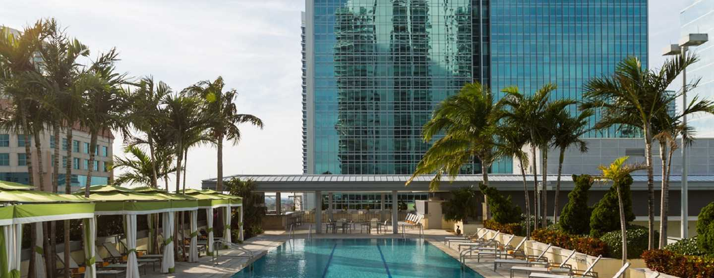 Conrad Miami Hotel, Florida, USA – Swimmingpool
