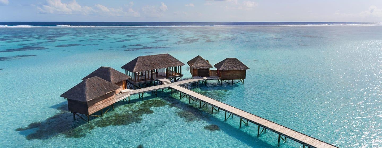 Conrad Maldives Rangali Island Hotel, Malediven– Spa über dem Wasser