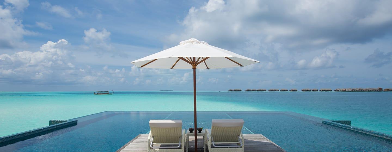 Conrad Maldives Rangali Island Hotel, Malediven – Infinity Pool Quiet Zone