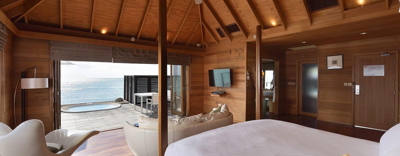 Conrad Maldives Rangali Island Hotel, Malediven– Deluxe Wasservilla