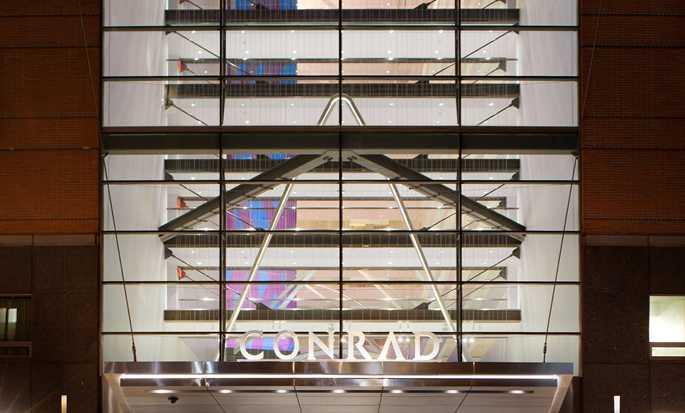Conrad New York Hotel, USA – Fasad