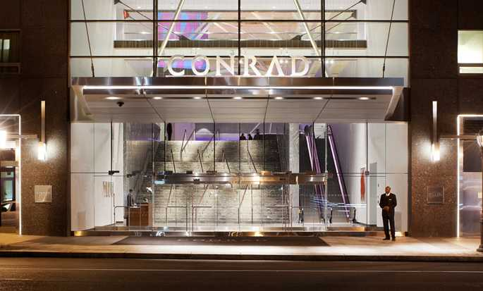 Conrad New York Downtown hotel, VS - Hotelentree