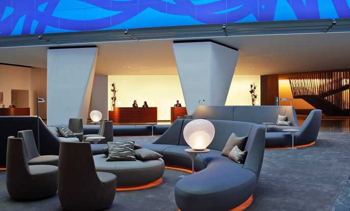 Hotel Conrad New York, EUA – Lobby do hotel
