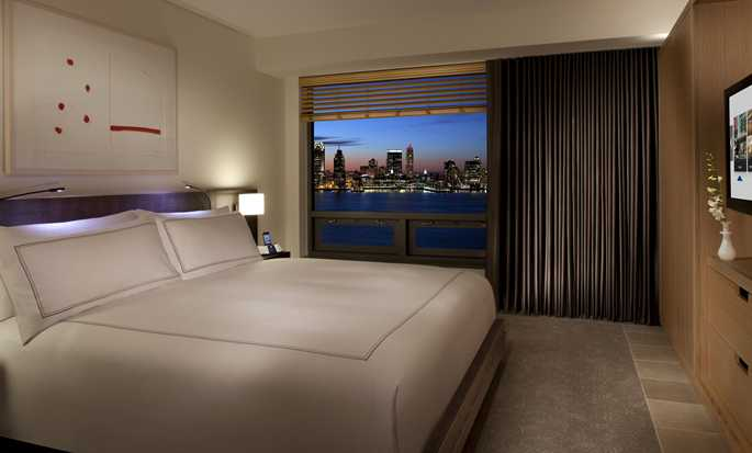 Conrad New York Downtown hotel, VS - King kamer