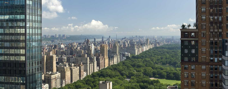 The London NYC, EE. UU. - Vista a Central Park