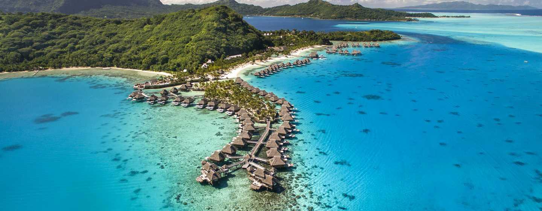 Hôtel Conrad Bora Bora Nui, Polynésie française - Vue aérienne