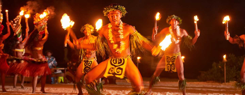 Hôtel Conrad Bora Bora Nui, Polynésie française - Danseurs polynésiens