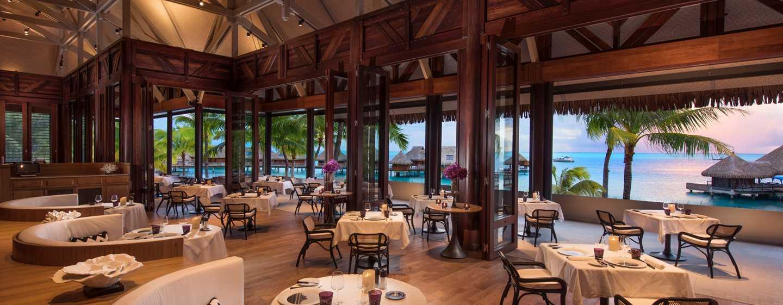 Hôtel Conrad Bora Bora Nui, Polynésie française - Petit déjeuner buffet - Restaurant français Iriatai