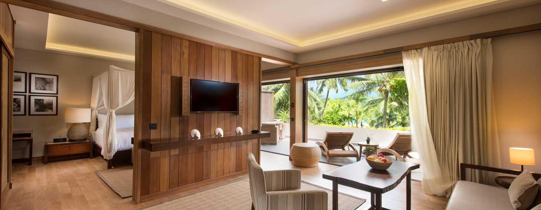Hôtel Conrad Bora Bora Nui, Polynésie Française - Suite avec vue sur le lagon