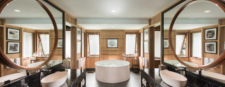 Hôtel Conrad Bora Bora Nui, Polynésie française - Salle de bain