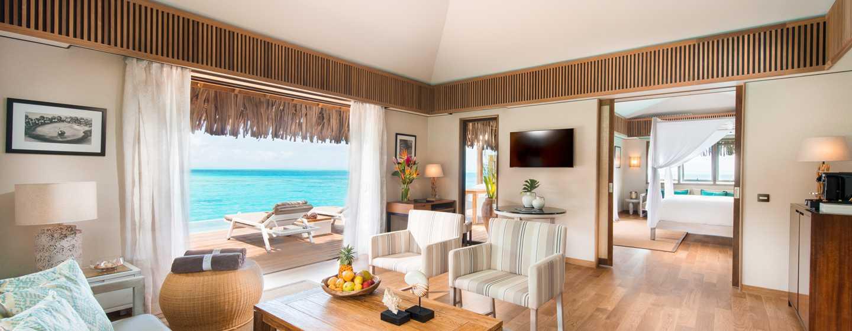 Hôtel Conrad Bora Bora Nui, Polynésie française - Villa royale sur pilotis avec piscine