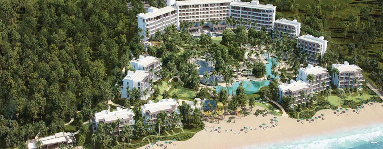 Hotel Conrad Punta de Mita, Nayarit, México - Fachada del hotel