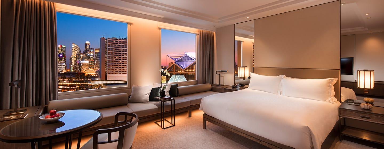 โรงแรม Conrad Centennial Singapore - ห้องเตียงคิงไซส์ วิวมารีนา