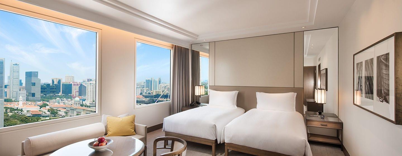 โรงแรม Conrad Centennial Singapore - ห้องพักเตียงทวิน วิวย่านแกลัง