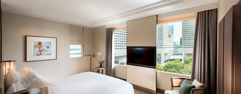 โรงแรม Conrad Centennial Singapore - ห้องนอนในห้องเซ็นเท็นเนียลสวีท