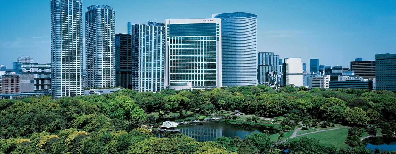 โรงแรม Conrad Tokyo ญี่ปุ่น - พื้นที่ด้านนอก