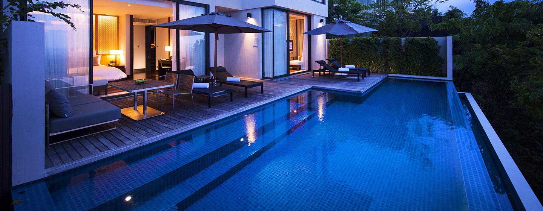 Hotel Conrad Koh Samui Residence, Thailand - Vila dua kamar tidur dengan kolam renang