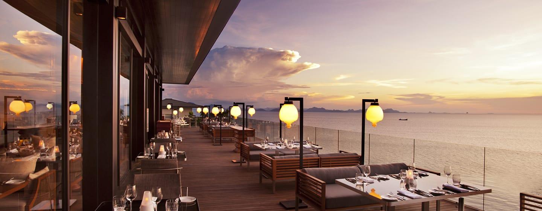 โรงแรมคอนราด เกาะสมุย เรสซิเดนซ์ ประเทศไทย - Zest Patio