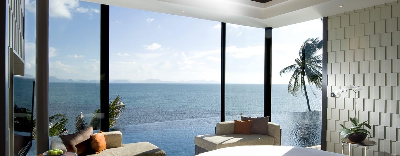 โรงแรมคอนราด เกาะสมุย ประเทศไทย - รอยัล พูลวิลล่า วิวทะเล