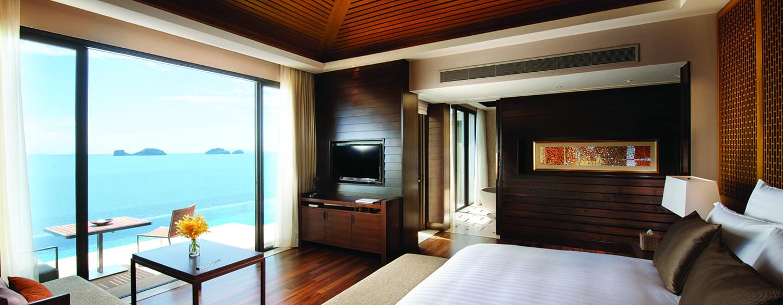 Hotel Conrad Koh Samui, Thailand - Villa Satu Kamar Tidur dengan Kolam Renang dan Pemandangan Laut
