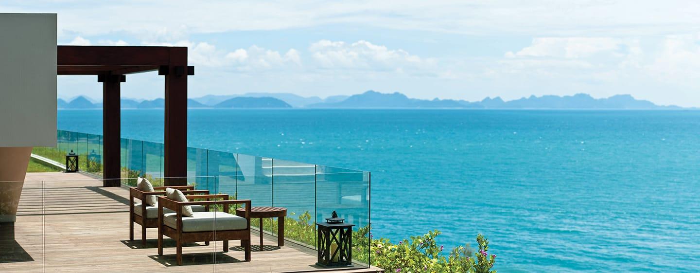 โรงแรมคอนราด เกาะสมุย ประเทศไทย - วิวทะเลของรีสอร์ท