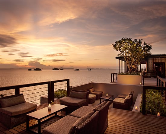 Hotel Conrad Koh Samui, Thailand - Wedding Arch Sunset Lounge