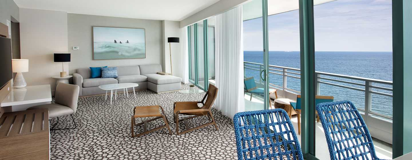 The Diplomat Beach Resort Hollywood, Curio Collection by Hilton Hotel, USA – Meerblick auf den Atlantik