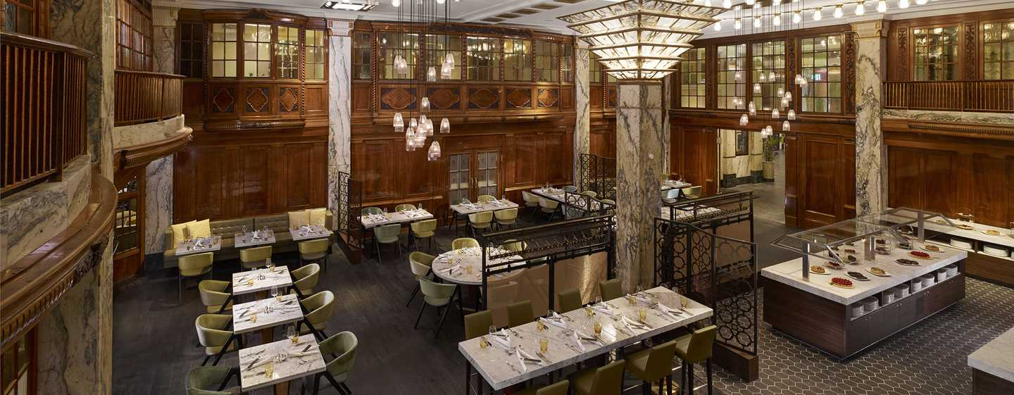 Reichshof Hamburg, Curio Collection by Hilton – Restaurant Slowman