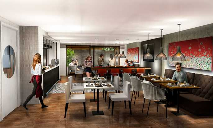 Hotel SORO Montevideo, Curio Collection by Hilton - Restaurante