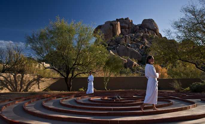 Boulders Resort & Spa, Curio Collection by Hilton Hotel, USA  - Spa Labyrinth